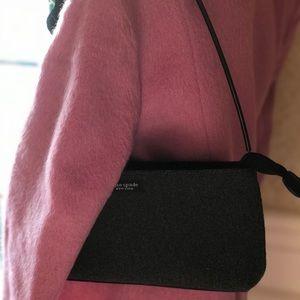 Kate Spade grey wool bag